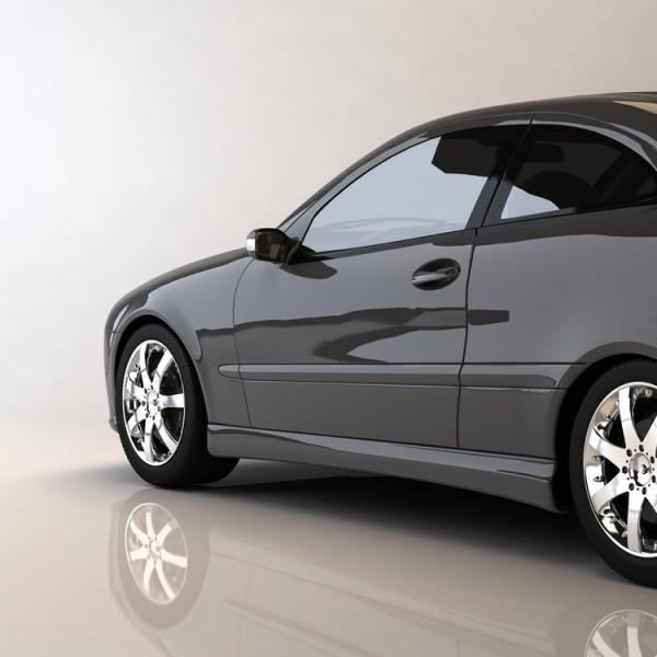 Lámina tintada para coche color negro medio Omega 85 K